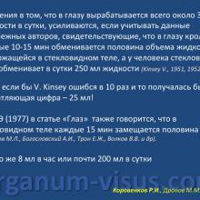 Коровенков Р.И., Дронов М.М. Вся ли жидкость, необходимая глазу, вырабатывается ресничным телом? Патогенез глаукомы, glaucoma pathogenesis. Информационный партнер портал Орган зрения www.organum-visus.com